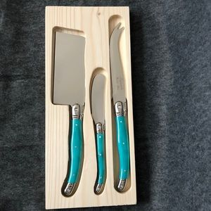 3-pc Cheese Knife Set